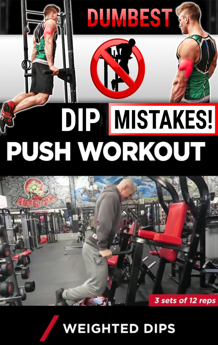 DIP PUSH WORKOUT