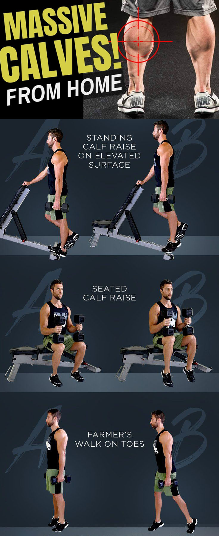 MASSIVE CALVES WORKOUT