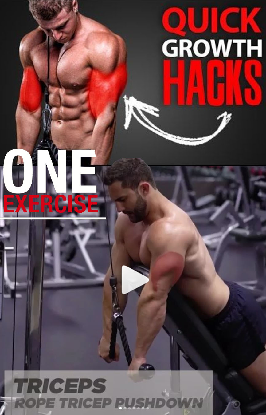QUICK GROWTH HACKS YOUR TRICEPS