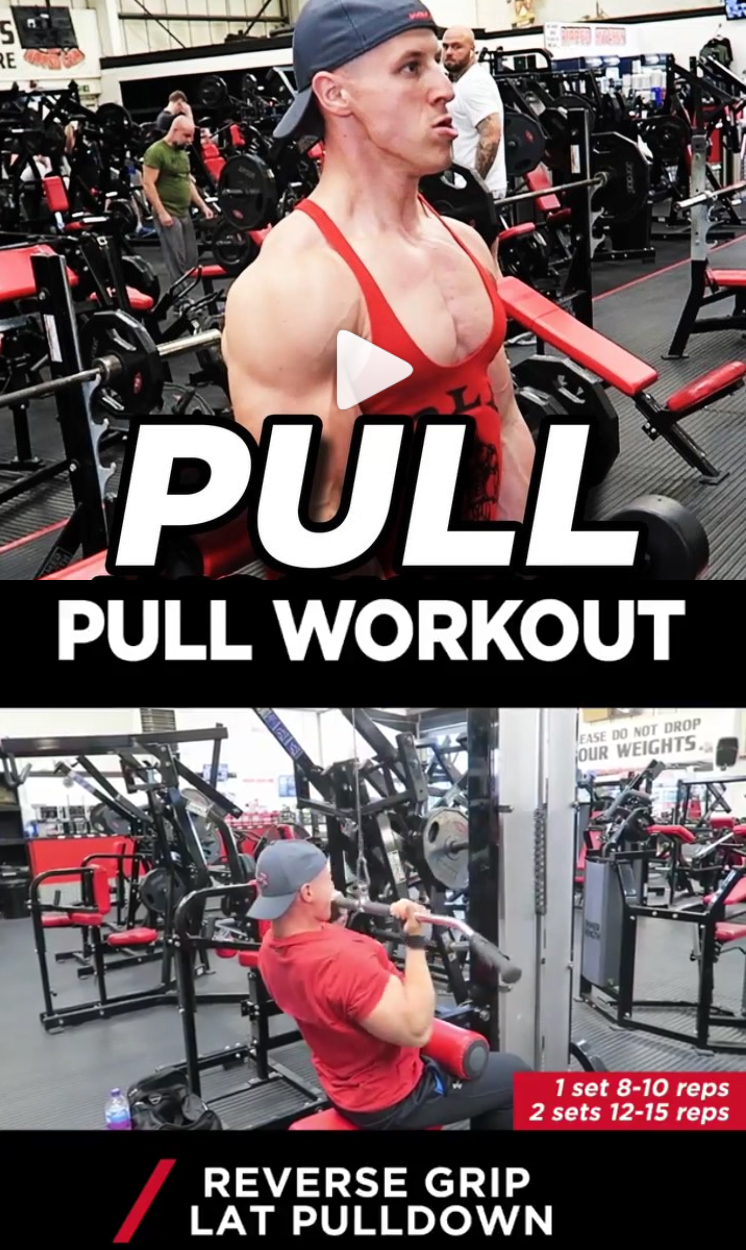 PULL WORKOUT | Reverse Grip