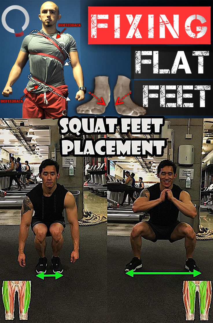 POSTERIOR OBLIQUE SLING | SQUAT FEET PLACEMENT