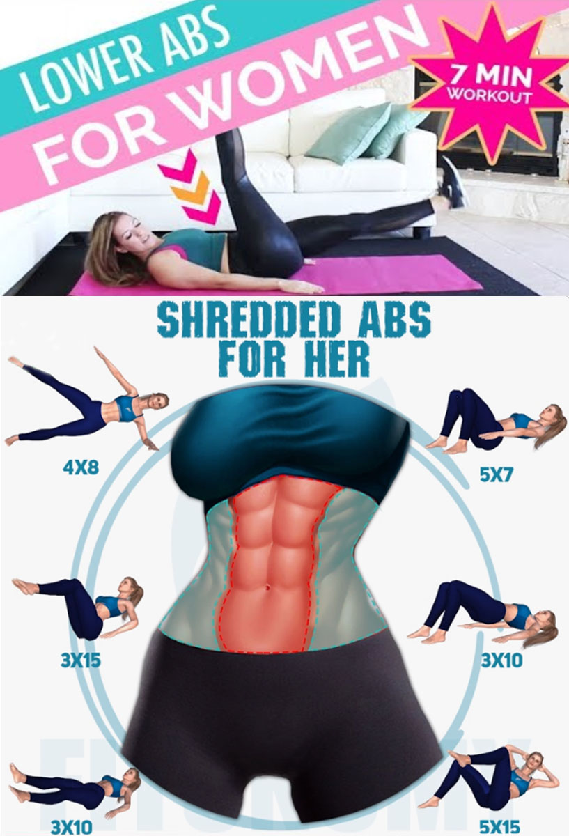 LOWER ABS FOR WOMEN