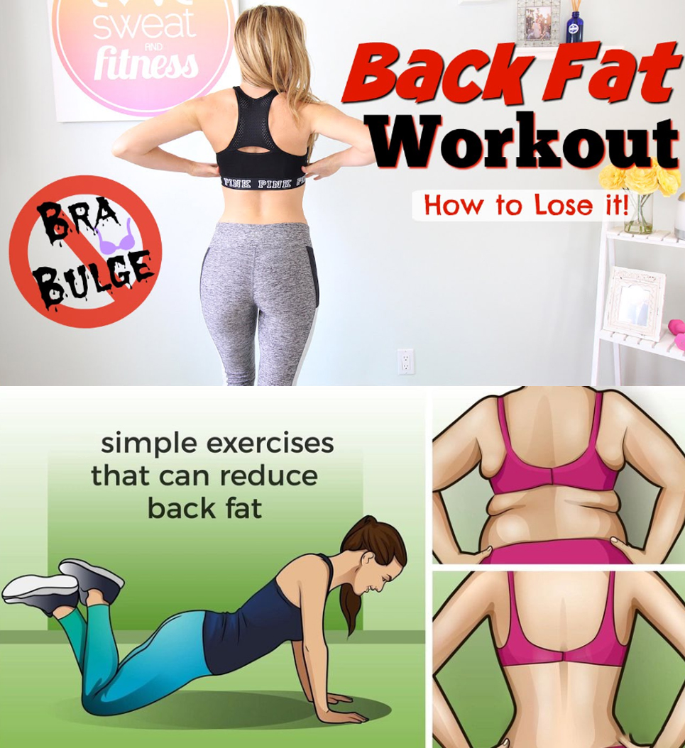 Back Fat Workout | How to Lose
