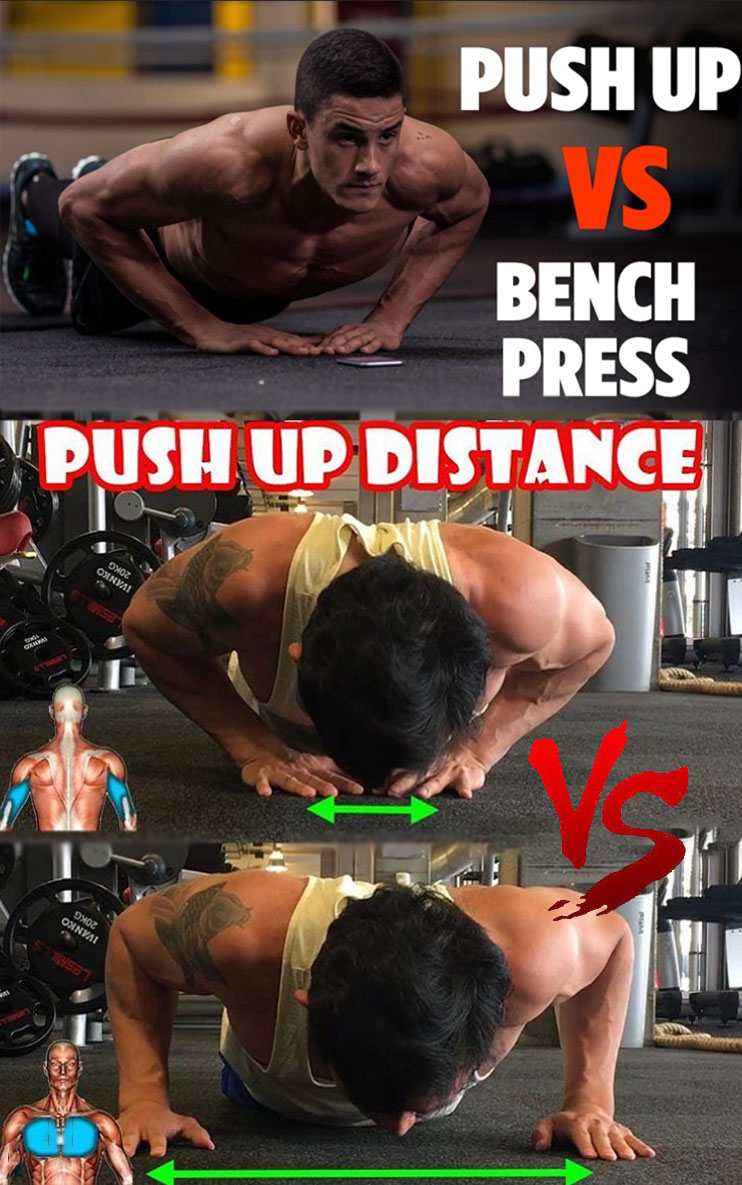 Push Up Distance