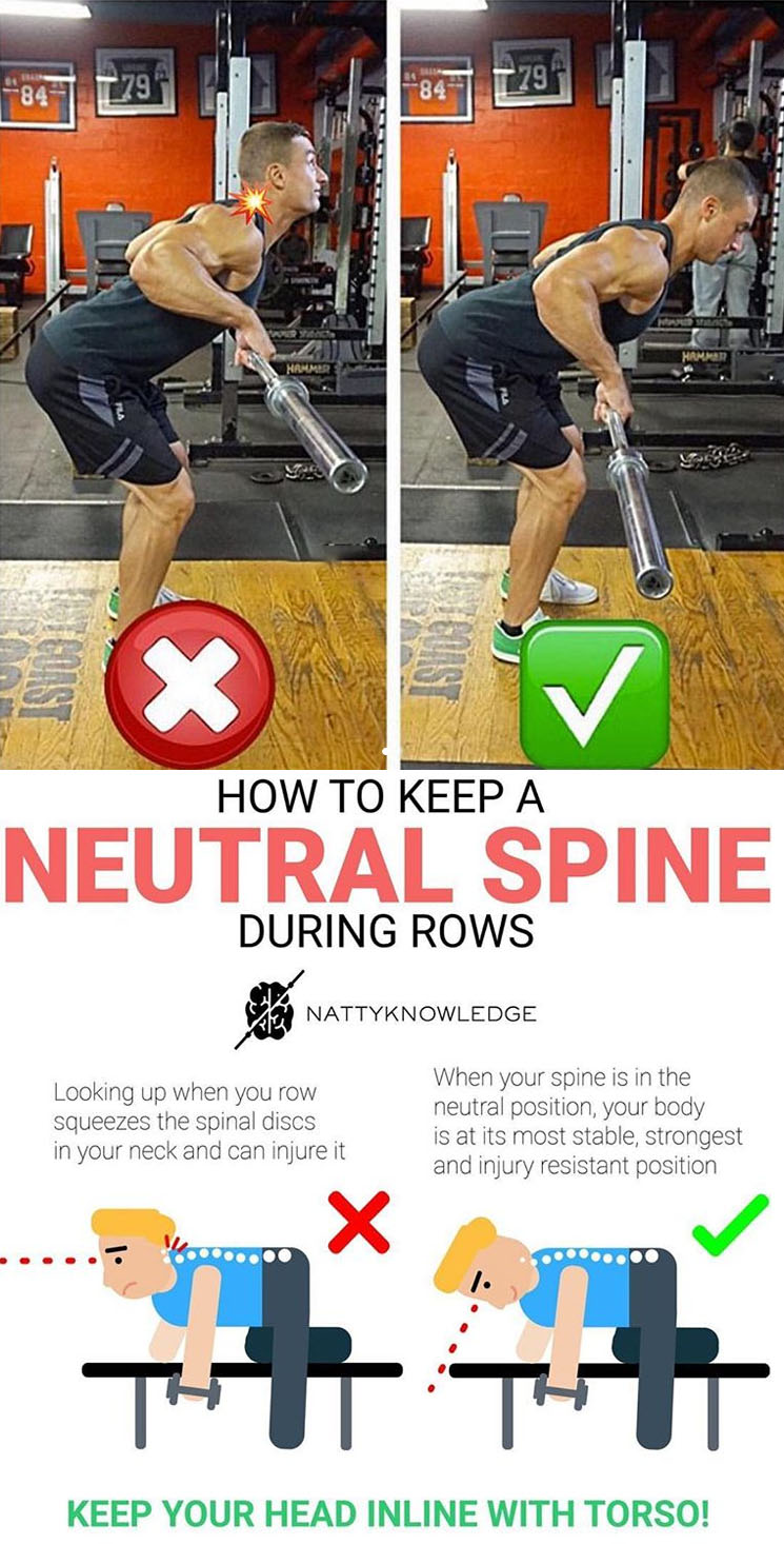 How to Keep a Neutral Spine