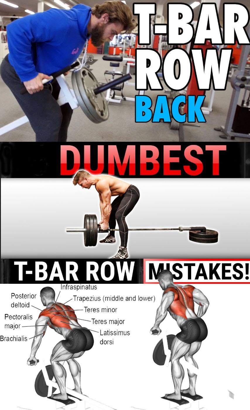 T-Bar Row Back