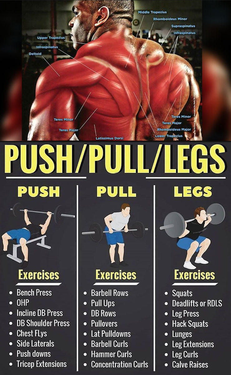 HOW TO COMPLEX PUSH & PULL EXERCISES