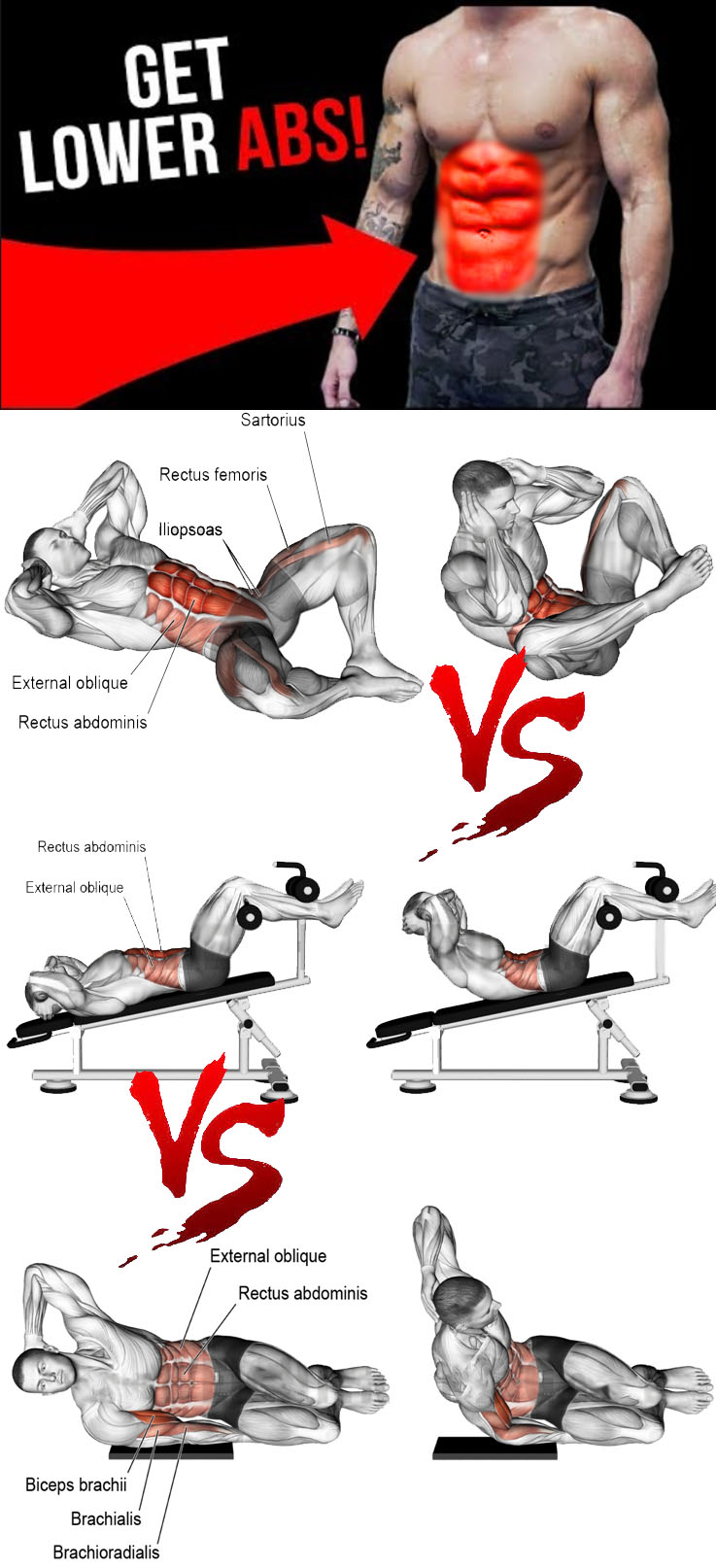GET LOWER ABS & OBLIQUES