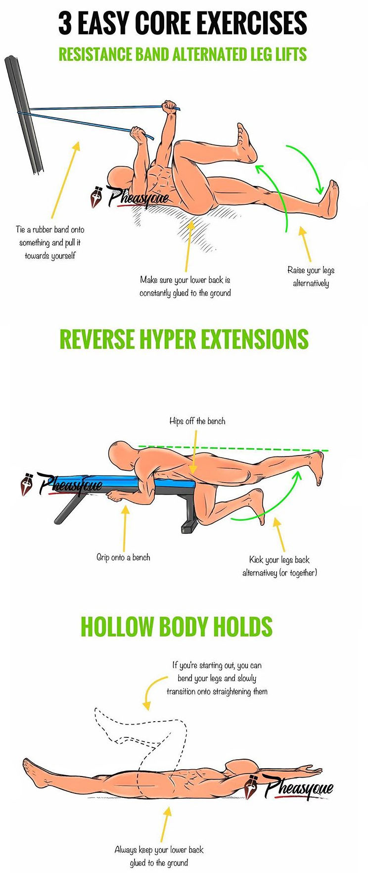 EXERCISES FOR YOUR CORE