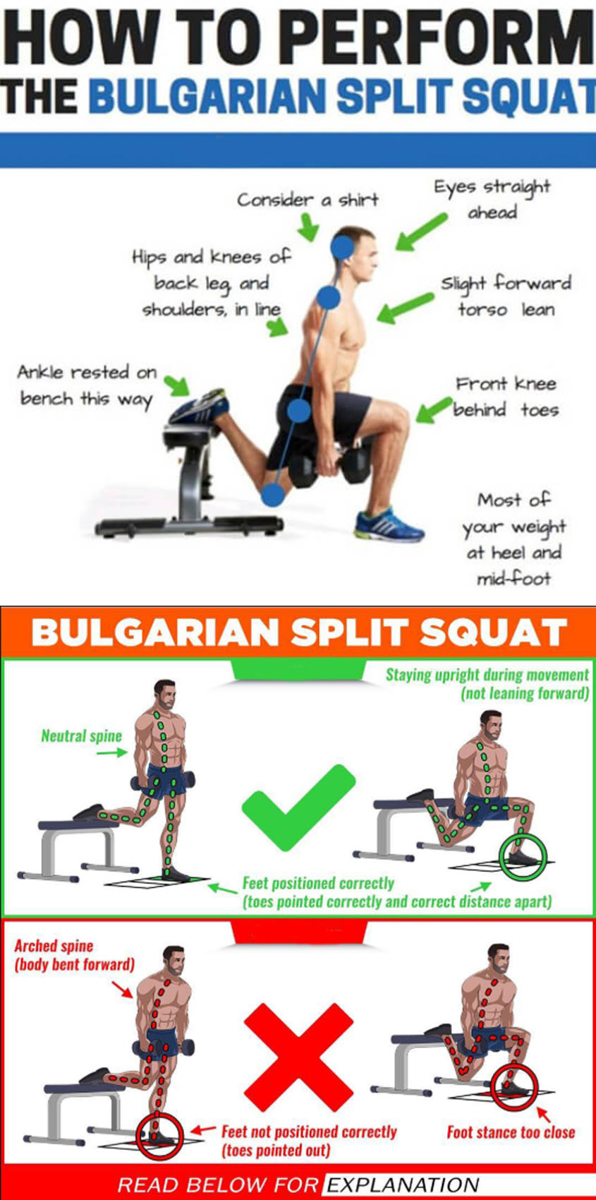 SCIENCE BEHIND SPLIT SQUATS