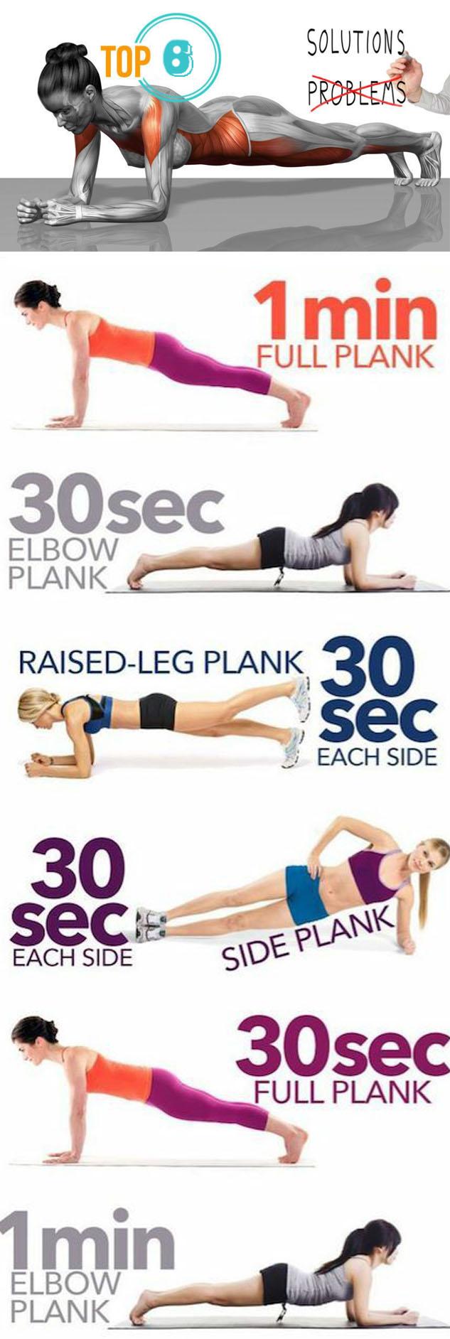 PLANK EXERCISES