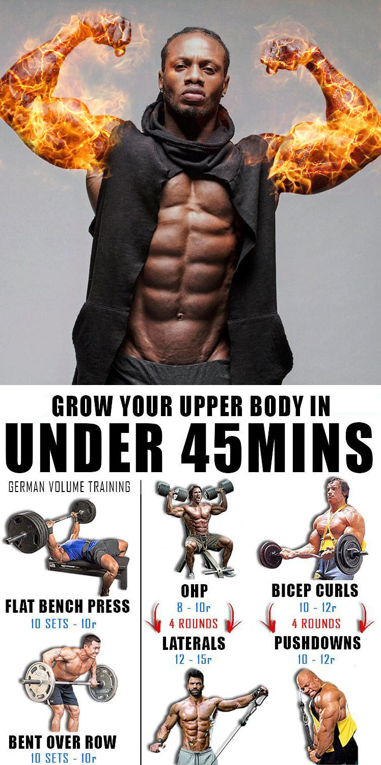 GROW YOUR UPPER BODY