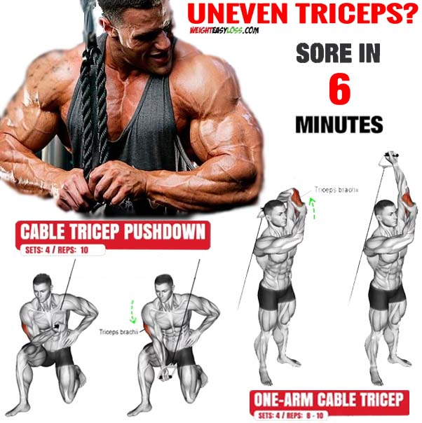 How to Do Training Uneven Triceps