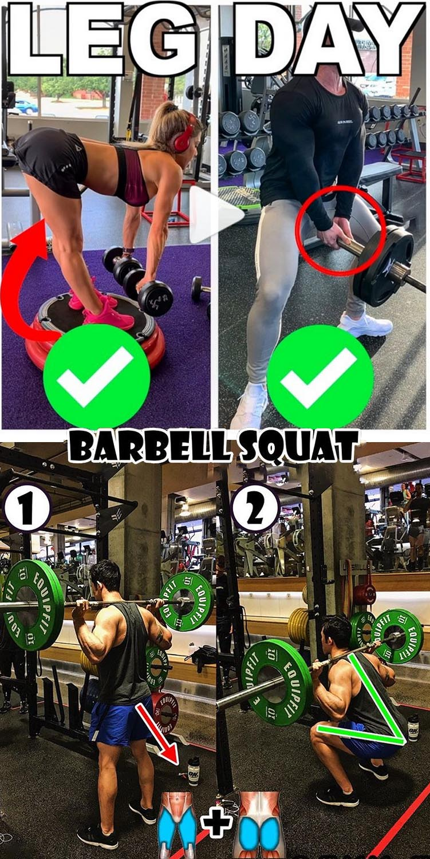 Leg Day | Barbell Squat