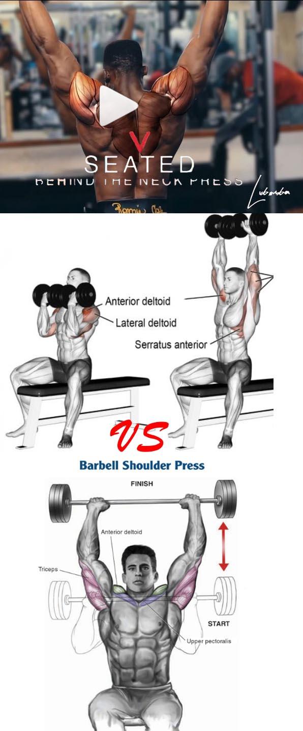 DB Shoulder Press - 4 Sets