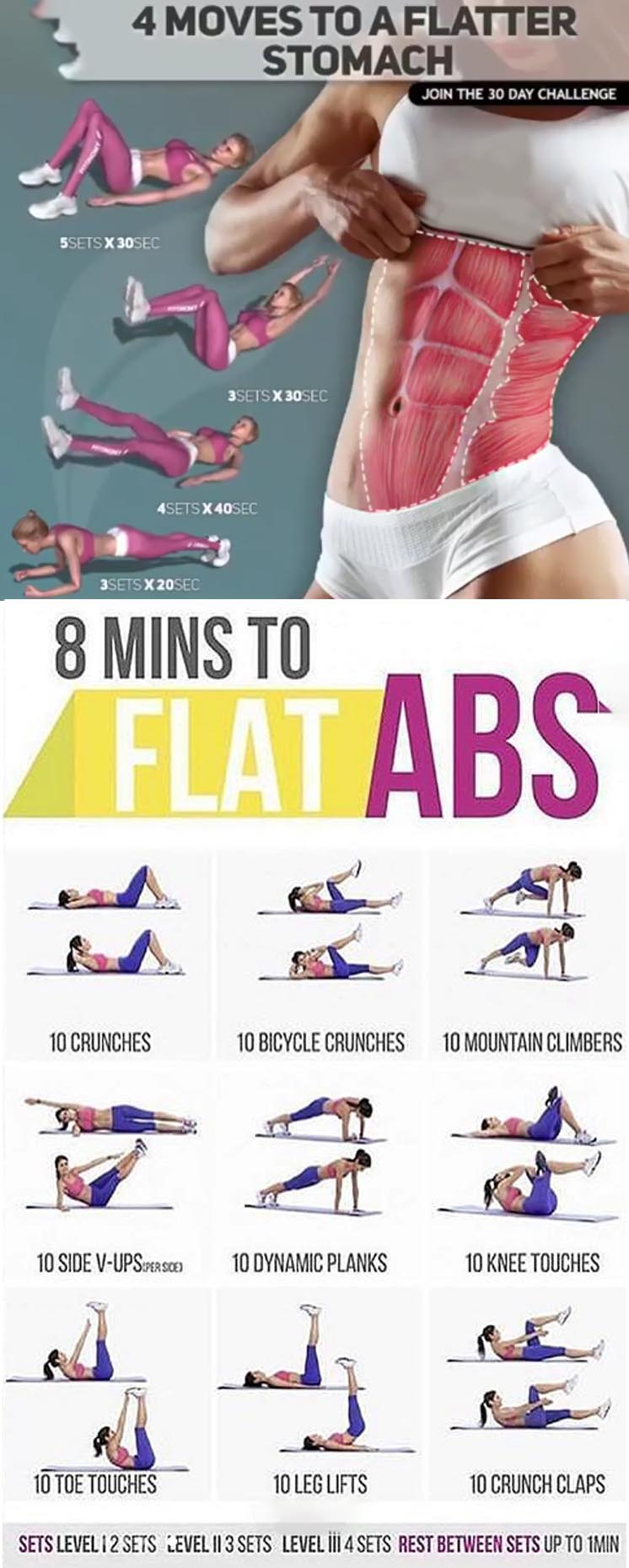 Flat Abs Stomach