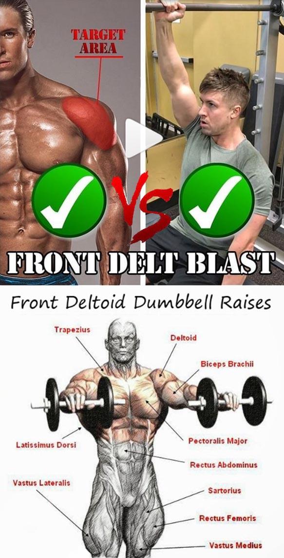 Front Delt Blast