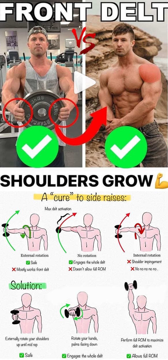 Front Shoulder Grow