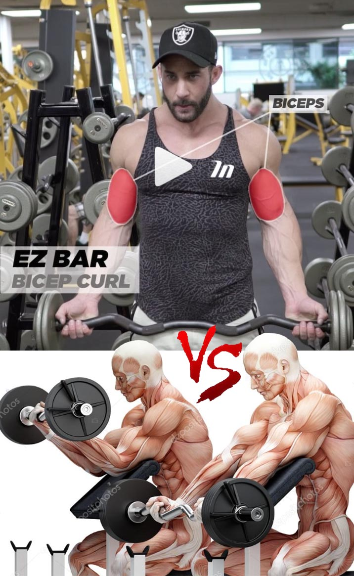 EZ BAR CURL VARIATION