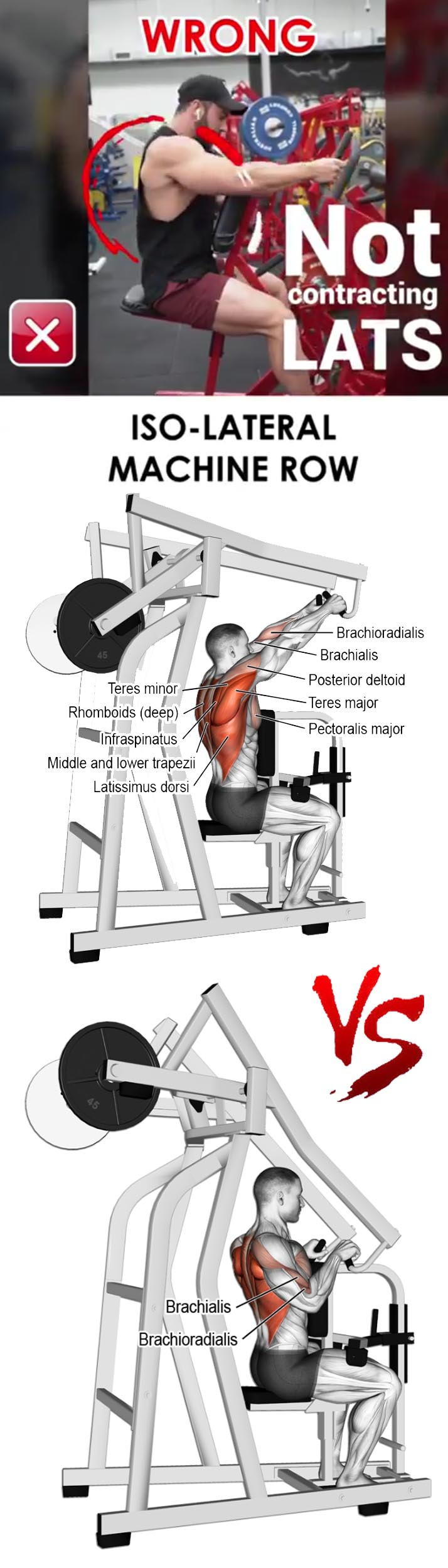 ISO LATERAL MACHINE ROW