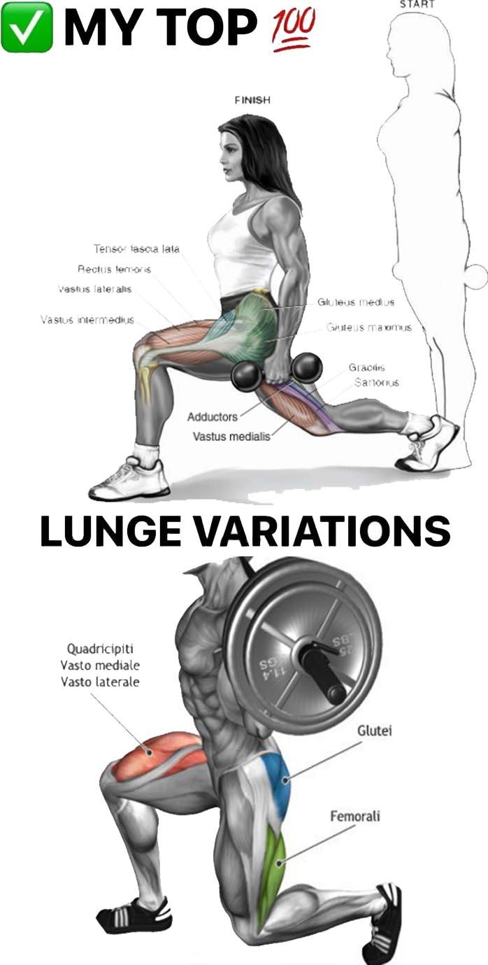 Lunge Variation