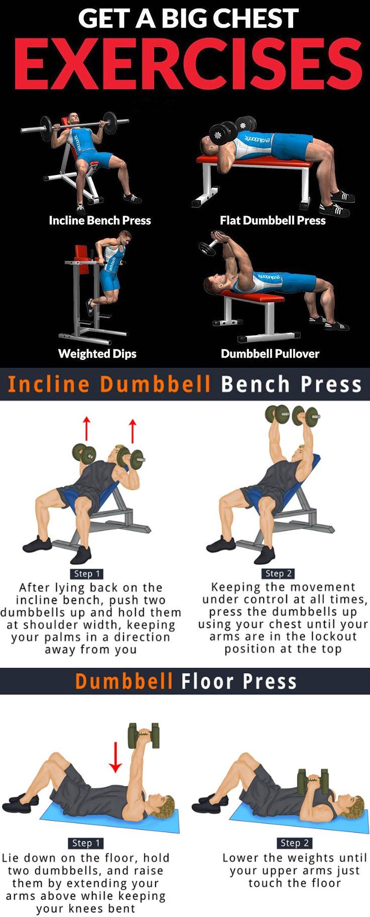 Big Chest Exercises
