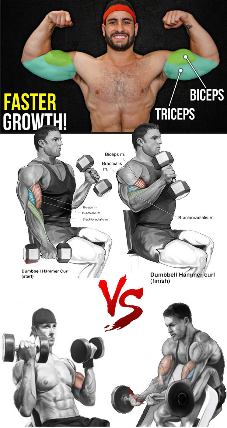 Fast Growth with Biceps Curl