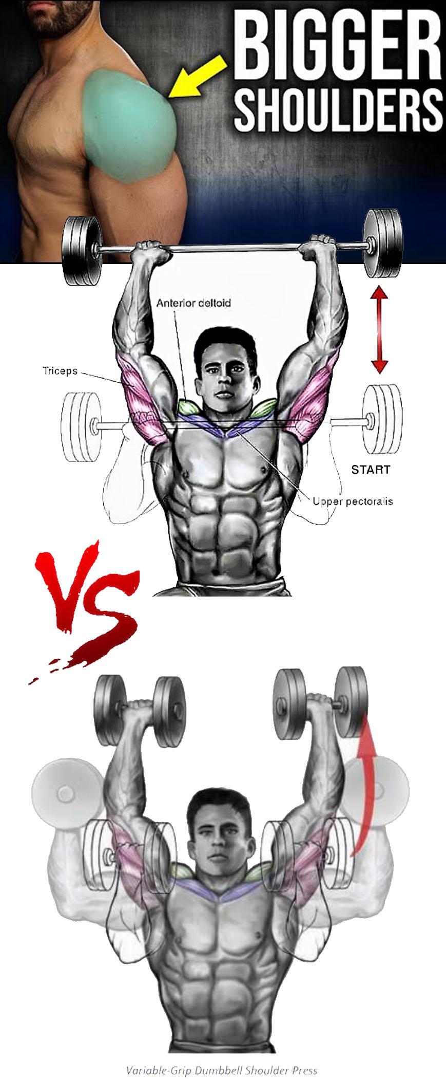 Variations Shoulder Press