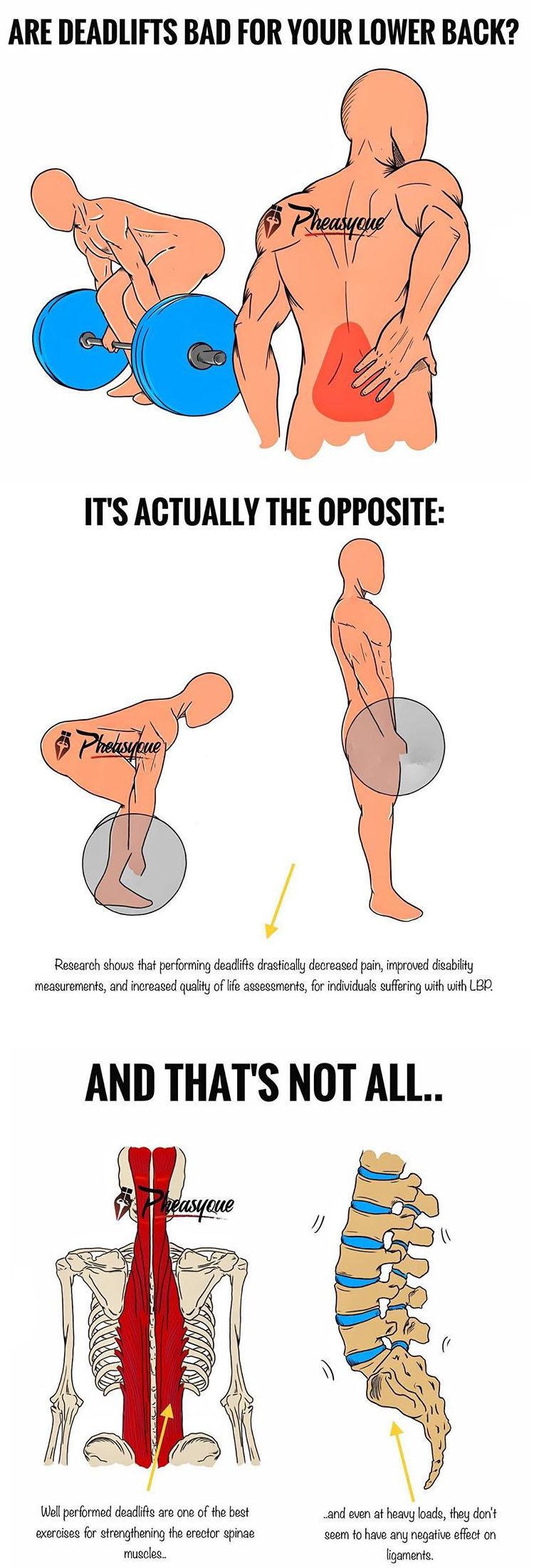 DEADLIFTS FOR LOWER BACK PAIN