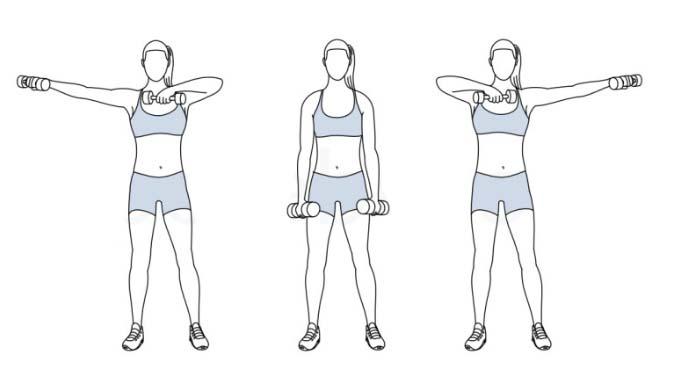 Упражнения для верхней части тела картинки