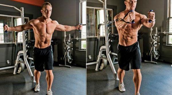 Inner pectoral exercises