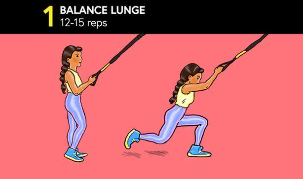 Balance Lunge