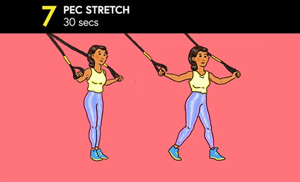 TRX Pec Stretch
