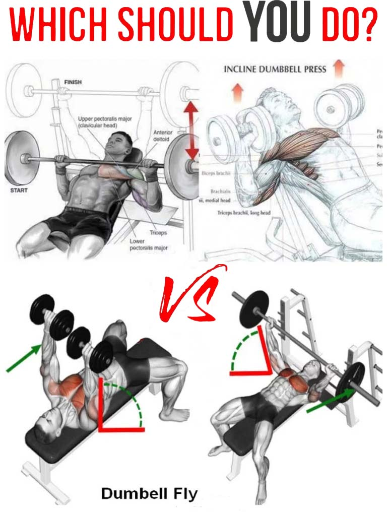 How to dumbbell press vs. chest press