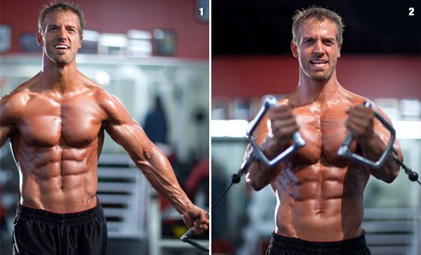 upper cable chest exercises