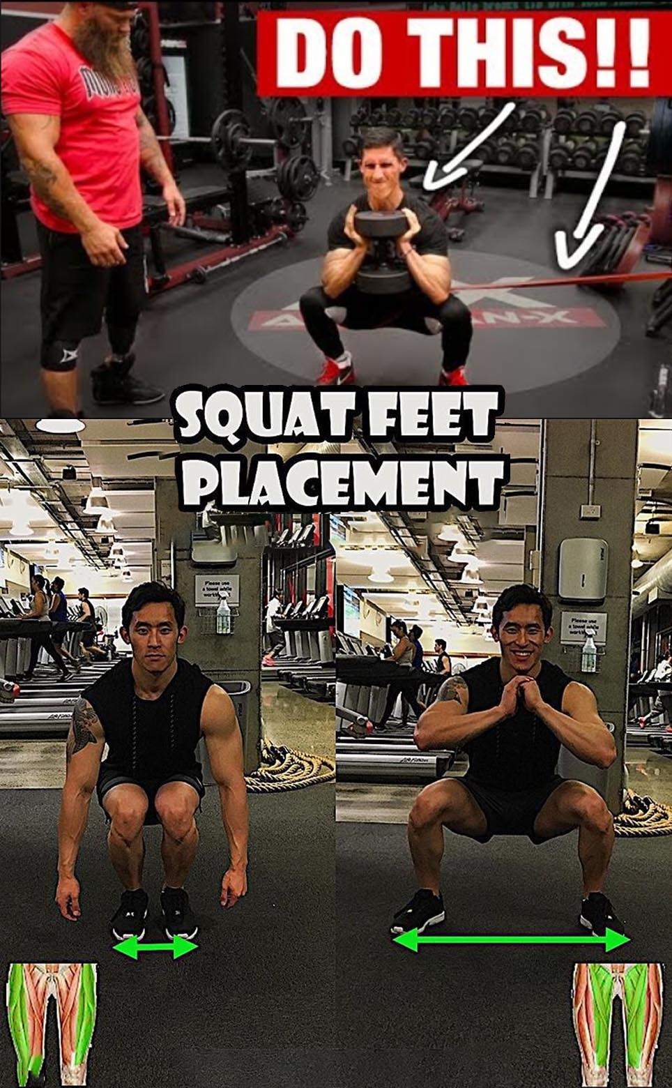 Squat Placement