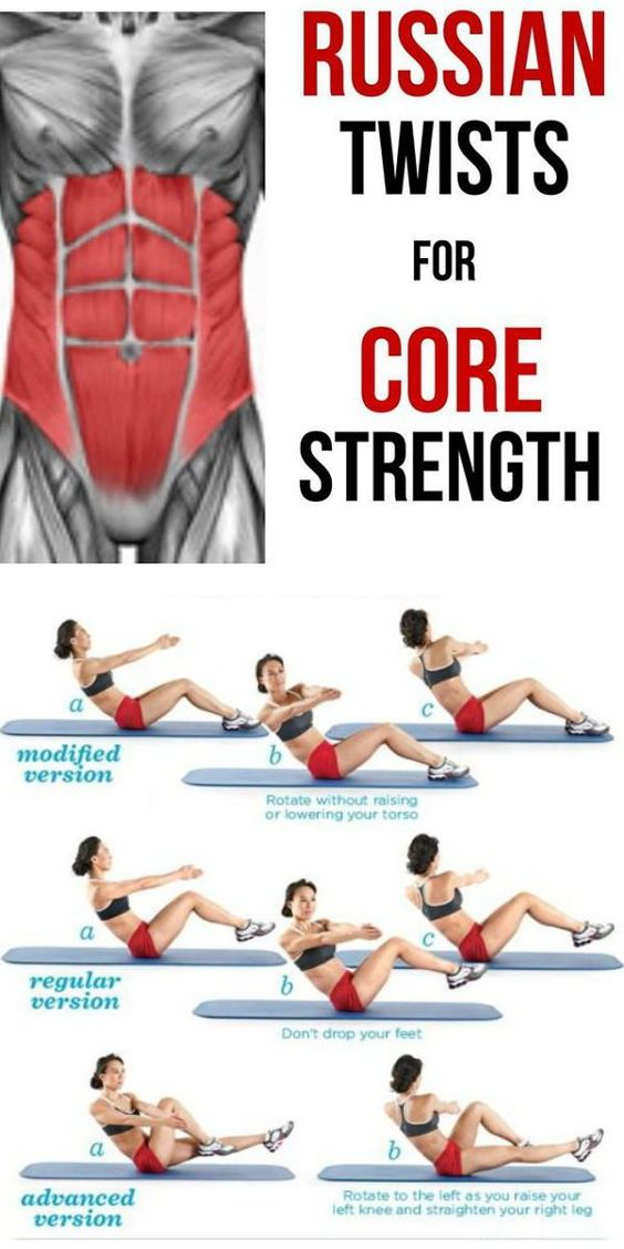 Core Twists For Core Strength
