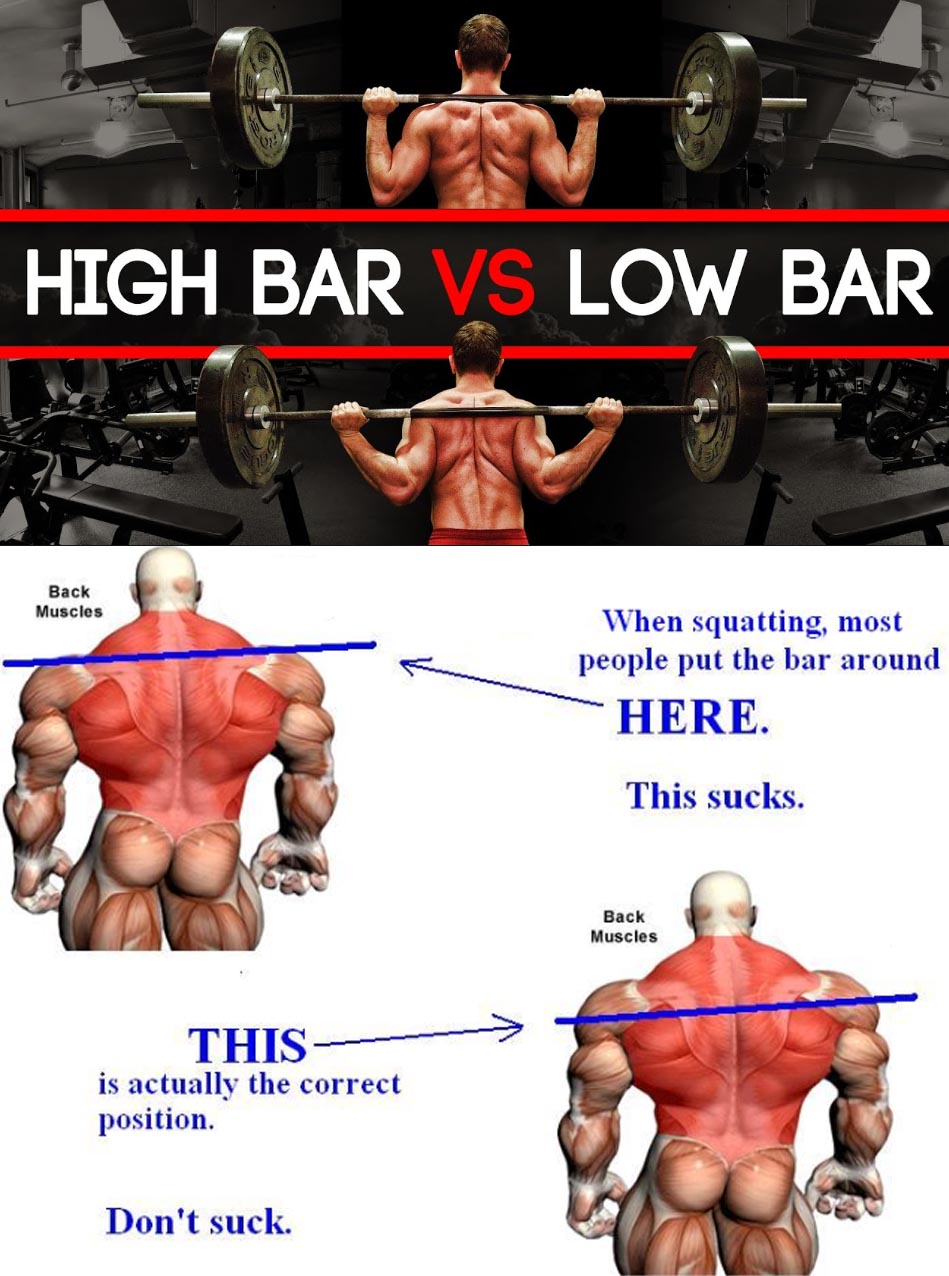 HOW TO HIGH BAR VS LOW BAR SQUATS