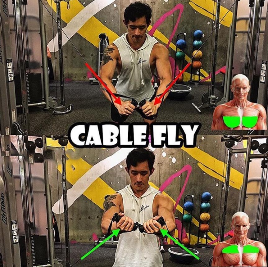 HOW TO CABLE CHEST FLYES