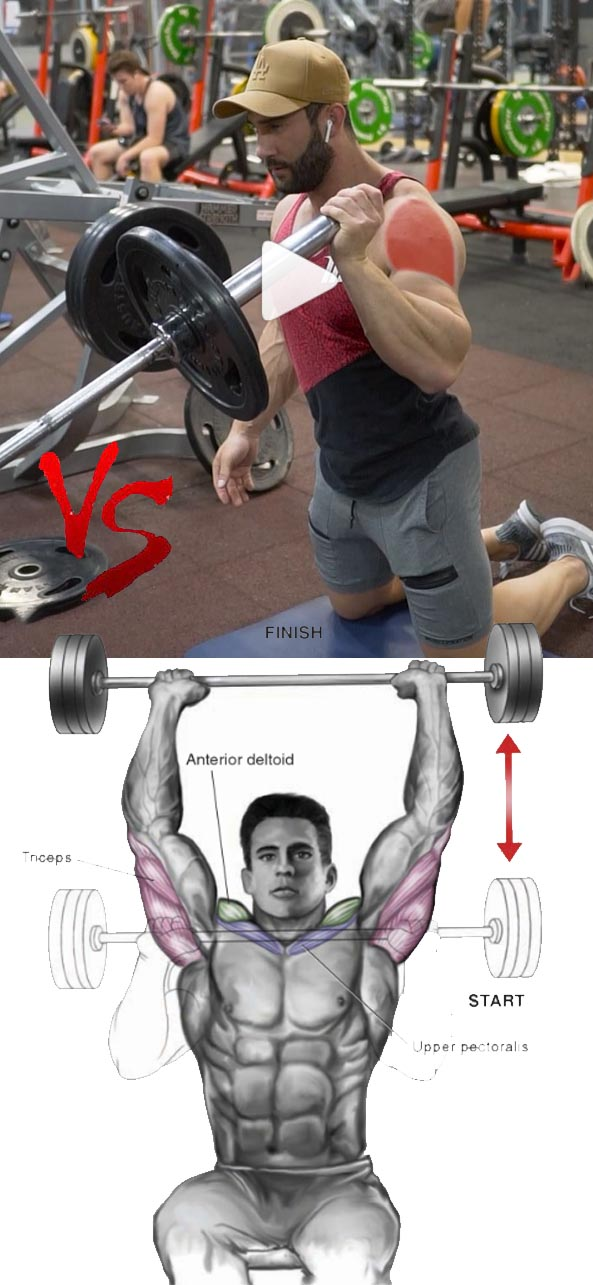 Corner Bar Single-Arm Shoulder Press