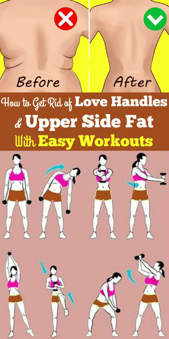 Upper Side Fat with Easy Workout
