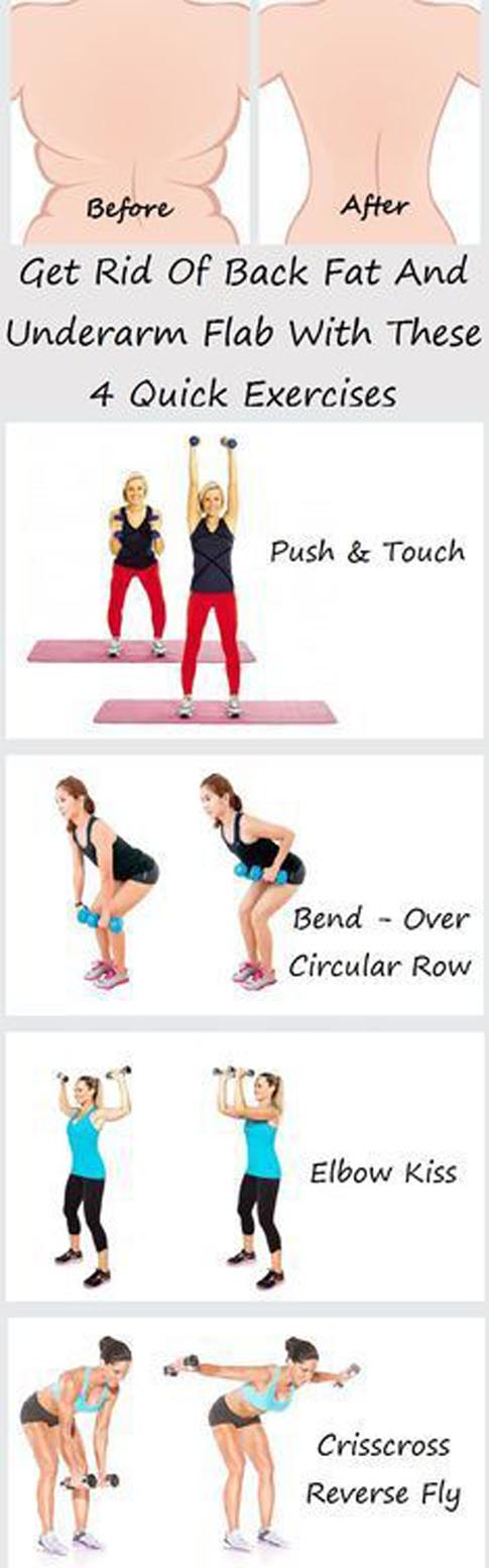 Best Exercises To Reduce Back Fat