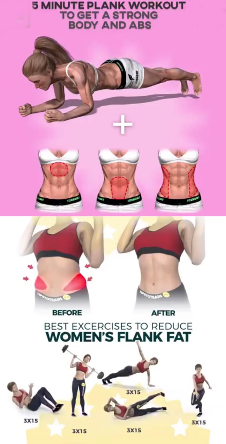 Exercises to Reduce Women's Flank fat