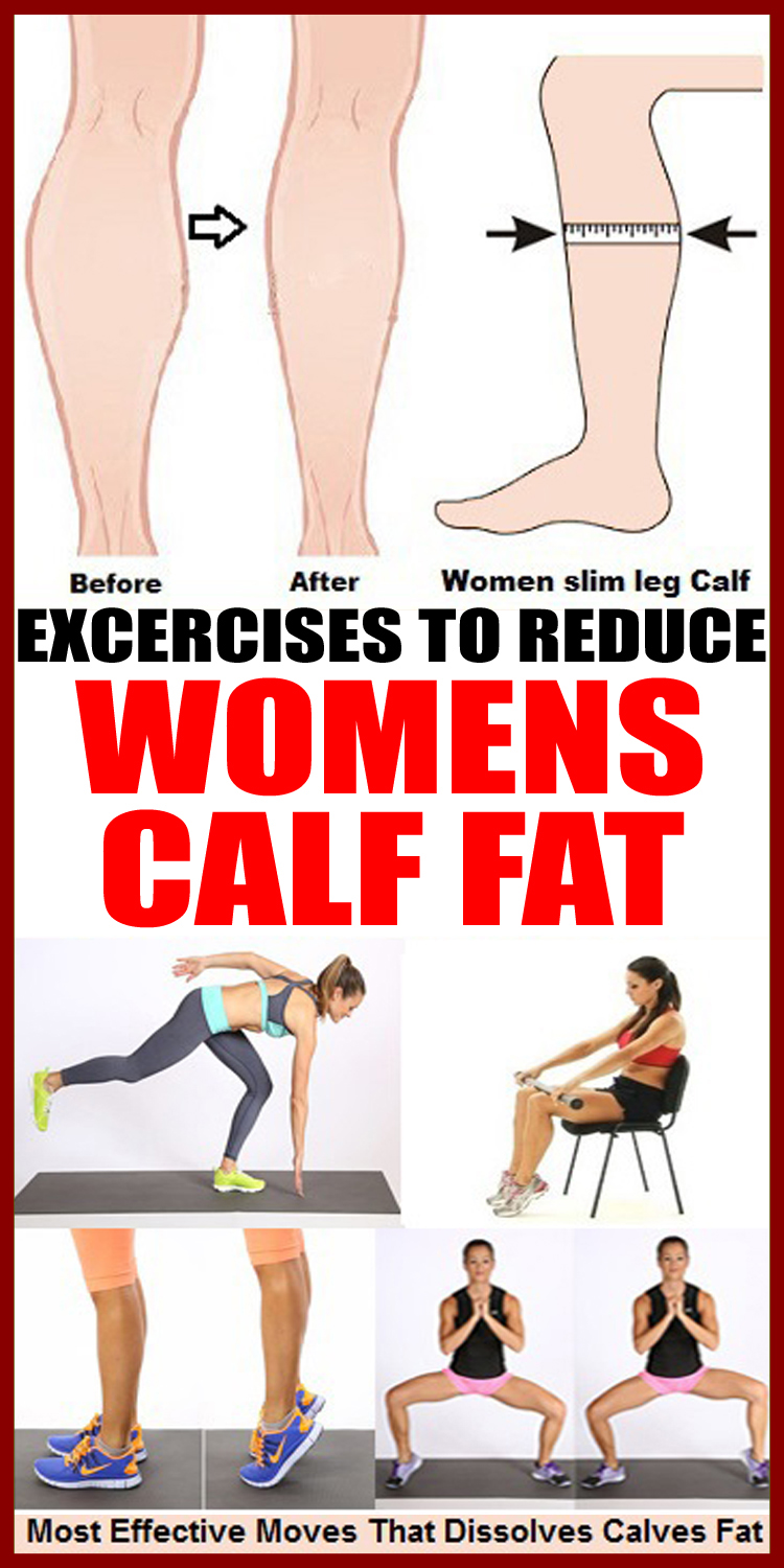 8 Best Exercises-to Reduce Women's Calf Fat