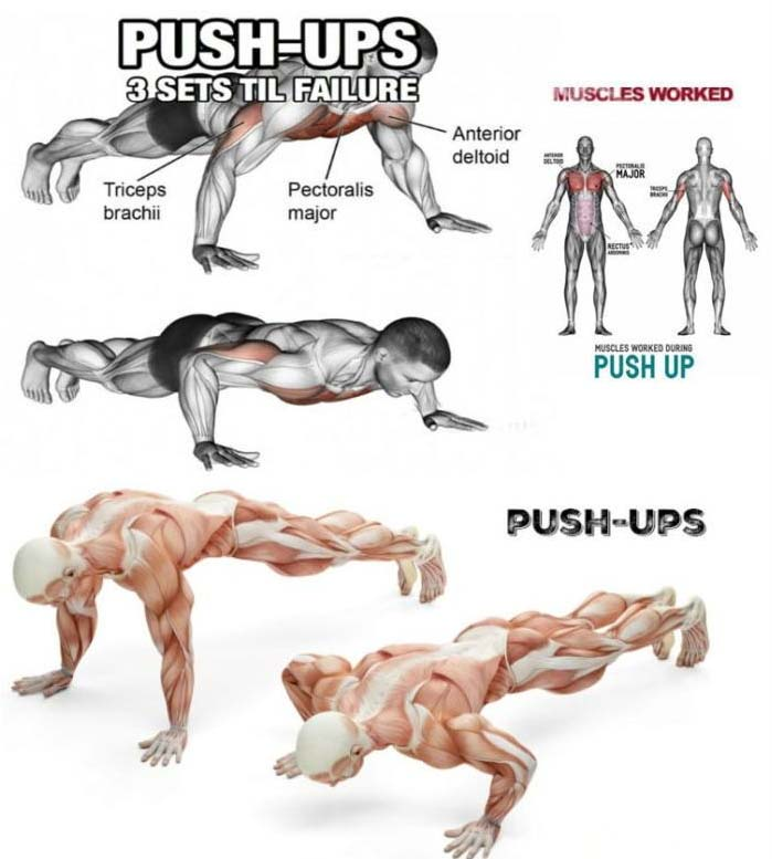 How to push ups