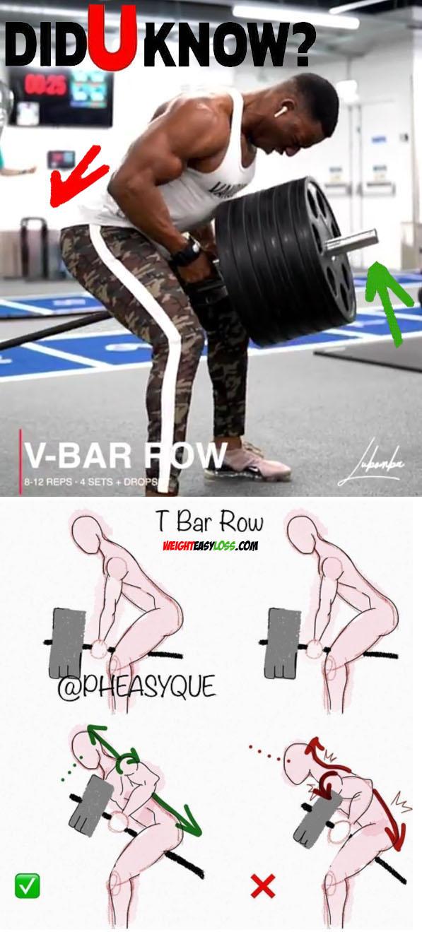 V-bar Rows