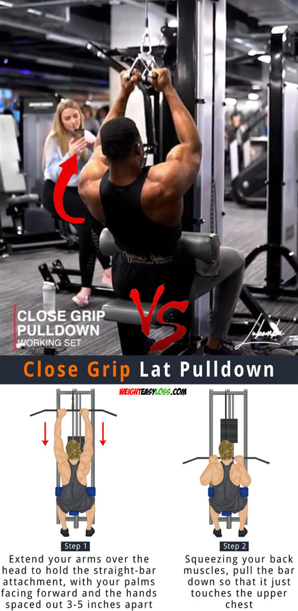 Close Grip Pulldown