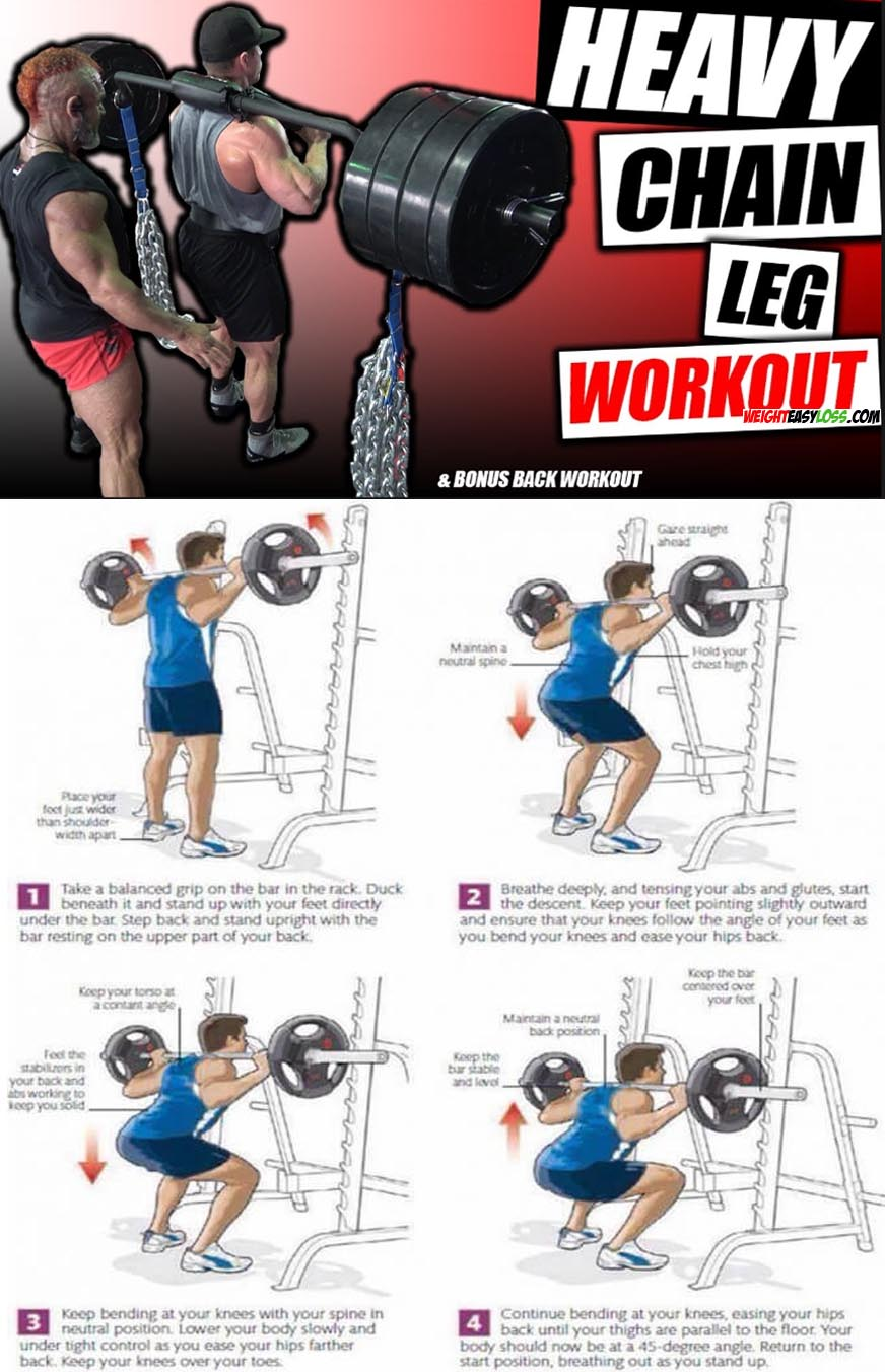 Heavy Legs Workout