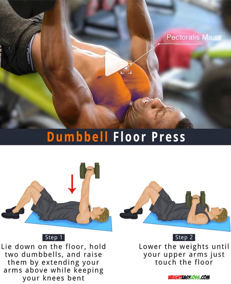 Dumbbell Floor Press