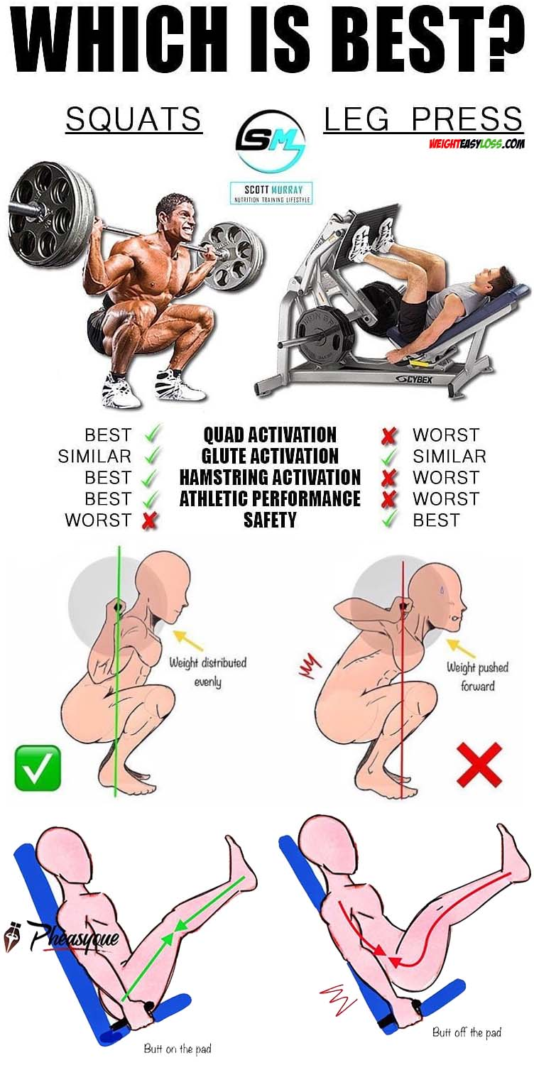 SQUAT & LEG PRESS GUIDE